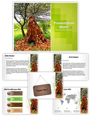 Ant Colony Editable PowerPoint Template