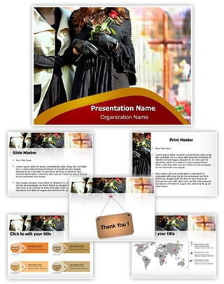 Bereavement Editable PowerPoint Template
