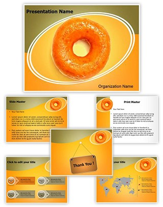 Yummy Donut Editable PowerPoint Template