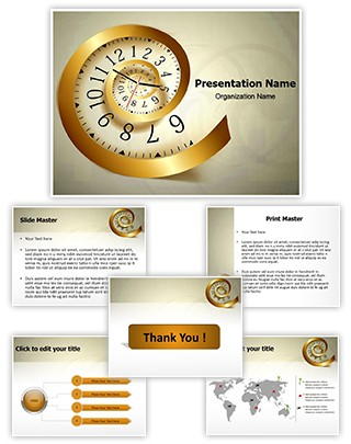 Infinity Time Editable PowerPoint Template