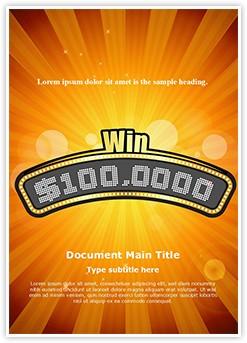 Rich Millionaire Editable Word Template