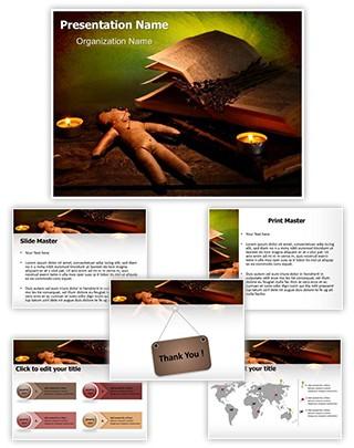Voodoo Editable PowerPoint Template