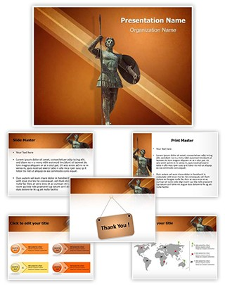 Alexander The Great Editable PowerPoint Template