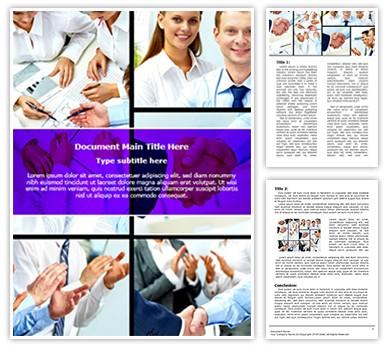 Corporate Editable Word Document Template