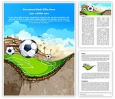 Sports Soccer Field Template