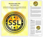 SSL Encryption Safety Template