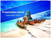Exotic Tourism Editable PowerPoint Template