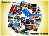 USA Tourism Editable PowerPoint Template