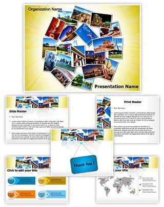 USA Tourism Editable PowerPoint Template