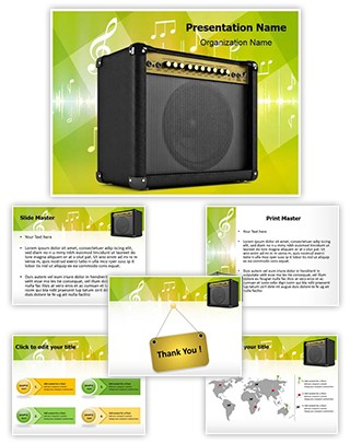 Amplifier Editable PowerPoint Template