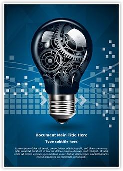 Technology Innovation Editable Word Template