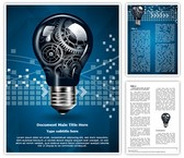 Technology Innovation Editable Word Template