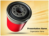 Automobile Filter Editable PowerPoint Template