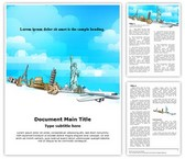Tourism Historical Monument Editable Word Template