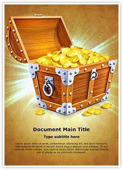 Treasure Editable Word Template