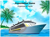 Cruise Ship Editable PowerPoint Template