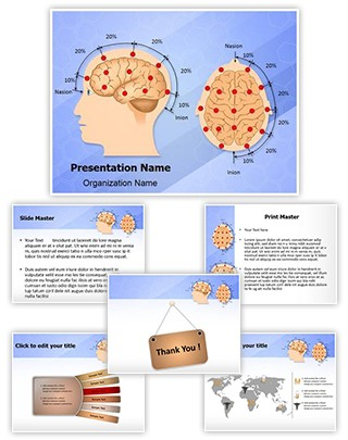 Eeg Electrode Placement Editable PowerPoint Template