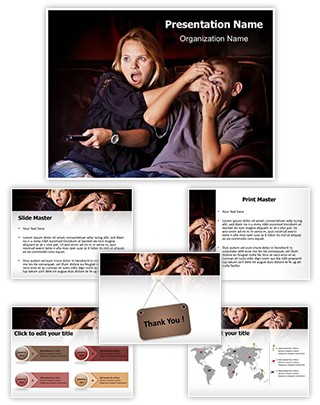 Anti Pornography Editable PowerPoint Template