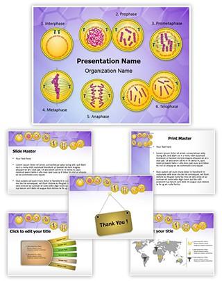 Genetic Engineering Mitosis Editable PowerPoint Template