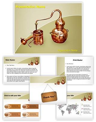 Distillation Editable PowerPoint Template