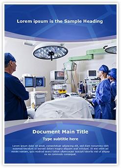 Operation room Editable Word Template