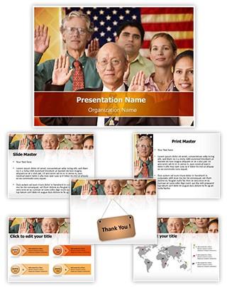 Citizenship Editable PowerPoint Template