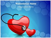 Heart Stethoscope PowerPoint Templates