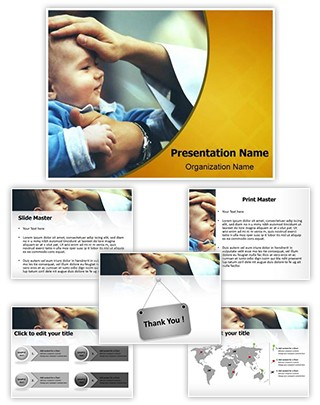Catholic Ceremony Editable PowerPoint Template
