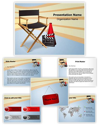 Director Editable PowerPoint Template