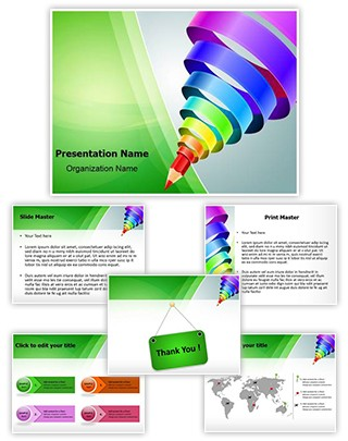 Graphic Design Education Editable PowerPoint Template