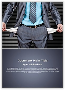 Bankruptcy Editable Word Template