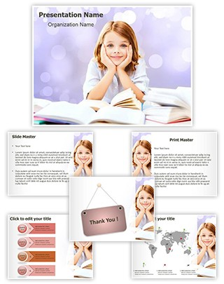 Learning Education School Editable PowerPoint Template