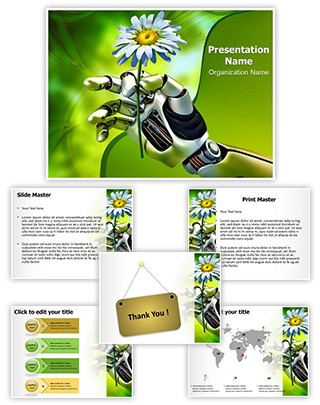 Nature and Science Editable PowerPoint Template