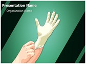 Medical Latex Gloves Template