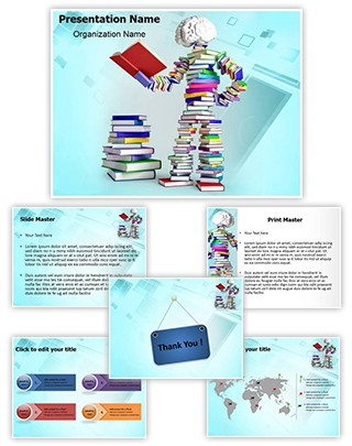 Educated Person Editable PowerPoint Template