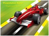 Formula 1 Grand Prix Editable PowerPoint Template