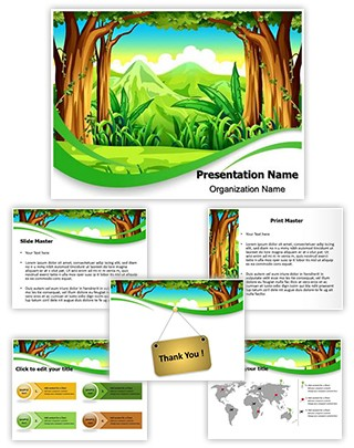 Forest Editable PowerPoint Template