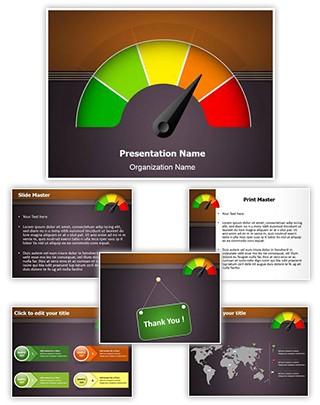 Rating Meter Editable PowerPoint Template