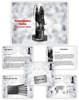 Medical Device Aerotherapy Editable PowerPoint Template