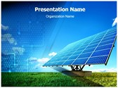 Solar Panel Editable PowerPoint Template