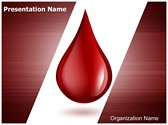 Blood Drop PowerPoint Templates
