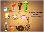 Starbucks Menu Editable PowerPoint Template