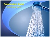 Spa Bathroom Shower PowerPoint Templates
