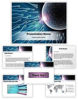 Sperms Editable PowerPoint Template
