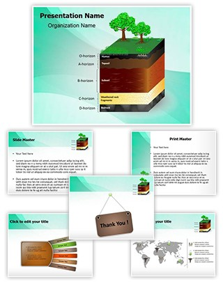Soil Layers Editable PowerPoint Template