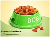 Pet Dog Food Editable PowerPoint Template
