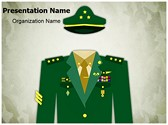 General Military Uniform Editable PowerPoint Template
