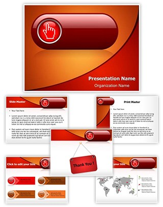 Online Booking Editable PowerPoint Template