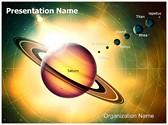 Solar System Saturn Editable PowerPoint Template