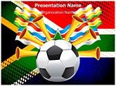 Football South Africa Editable PowerPoint Template